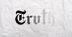 Verblassende Wahrheit in Redaktionsbeitrag der New York Times