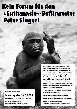 phil.COLOGNE sagt Auftritt des Euthanasie-Propagandisten Peter Singer in Köln ab