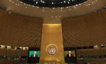 Präsident Trump bei der 73. Sitzung der Vollversammlung der Vereinten Nationen
