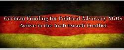 Deutsche Finanzierung von politischen Interessenvertretungs-NGOs im Nahost-Konflikt