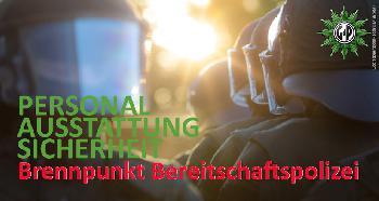 `Brennpunkt Bereitschaftspolizei´ - Zweitägige GdP-Fachtagung in Berlin