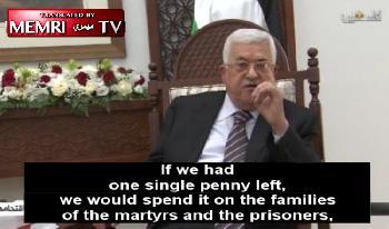 Wie palästinensische Führer den Terrorismus fördern