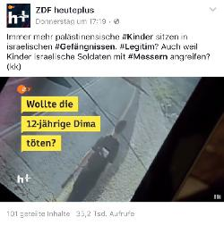 Wollte ZDF heuteplus Israel dämonisieren?
