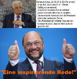 Ein Araber macht auf Anti-Zionismus - und die EU jubelt