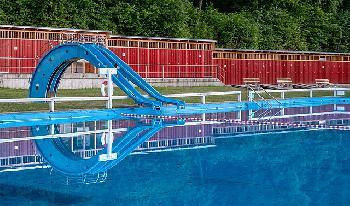 Schwimmbäder, das verlorene Terrain