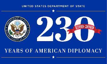 230. Geburtstag des US-Außenministeriums