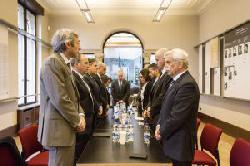 Diplomatensitzung im Haus der Wannseekonferenz