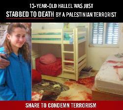 Terrorist ermordet 13-jähriges Mädchen im Schlaf