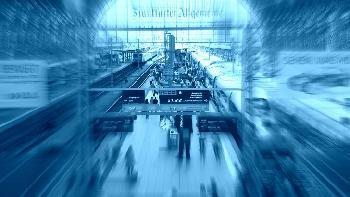 Frankfurt, Hauptbahnhof, Gleis 7