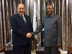 Dore Gold besucht Republik Guinea