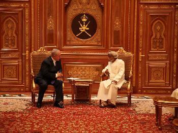 Oman `sehr optimistisch´ bezüglich Donald Trumps Nahost-Friedensplan