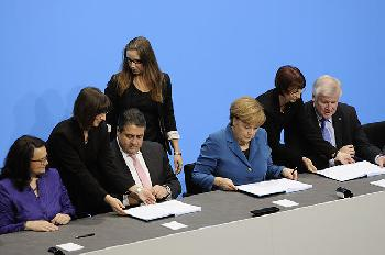 Merkel und Nahles - Dead women walking