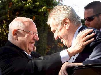Präsident der Tschechischen Republik in Israel