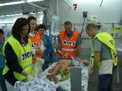 Israelische Krankenhäuser behandeln immer mehr Patienten aus Gaza